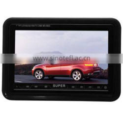 7 inch Wholesale price cheap tv monitor with av