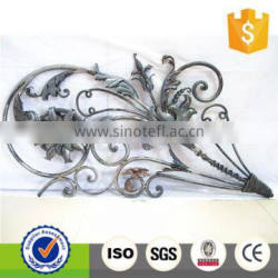 Decorative Ornamental Wrought Iron Fence Components