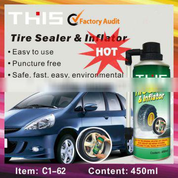 450ml Portable Car Electronic Tire Inflator