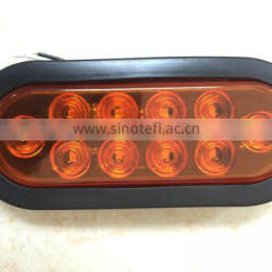 "6.5"" truck led light with stop/tail/turn function/side,CE certification(RK-TL271)"