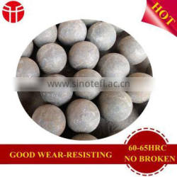 140mm B3 forged steel ball for mining