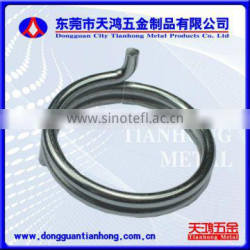 Large diameter torsion springs which can be customed