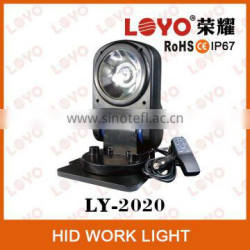 With Remote Spot Beam 9-32V 35W/55W Super Bright HID Work Light, IP67 Auto HID Work Light, Remote Control HID Work Light
