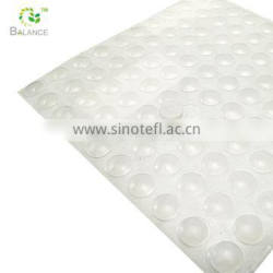 clear sticky anti vibration pads glass table rubber pads