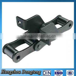 C type steel agricultural chains with attachments For agricultural machine
