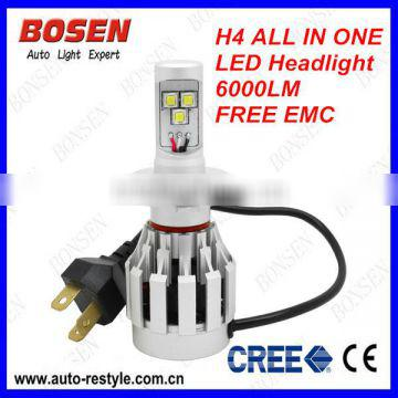 2014 new product H4all in one led head light make in china new product 2014