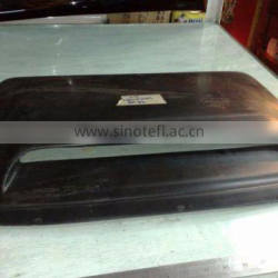 Car front air scoop cover