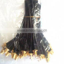 shenzhen LMR195 cable assemblies sma female connector with bulkhead
