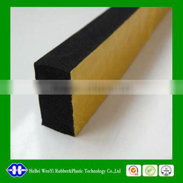 EPDM foamed UV-resist extrusion rubber profile