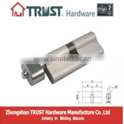 DL-A71SN-T01:Trust 71mm Euro Profile Dead Locking lock cylinder