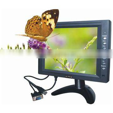 8 inch LCD TV Monitor with VGA function,pc monitor