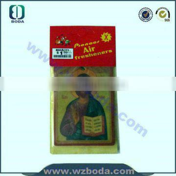 Professional the public like design car air freshener with CE certificate