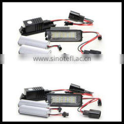 no error led license plate light resistor for golf 5 18 smd led license plate lamp for vw golf 6 with canbus