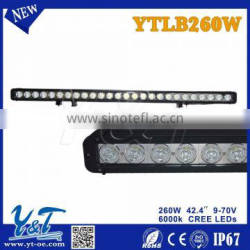 4X4 accessories 260W off road led light bar