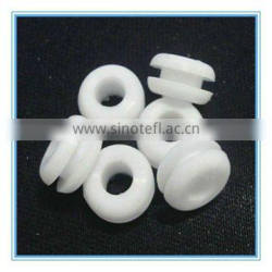 Oyster white silicone grommets