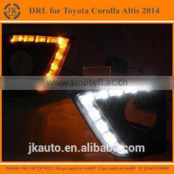 Best Selling Car Specific LED DRL for Toyota Corolla 2014 Super Bright LED Daytime Running Lights for Toyota Corolla 2014
