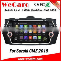 Wecaro WC-SC8075 Android 4.4.4 car stereo 1024 * 600 for suzuki swift car player with bluetooth android 1080p 2015