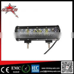 Battery powered led light bar offroad car 54w 4d led light bar