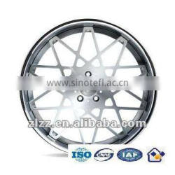 Precision drop die forged wheels