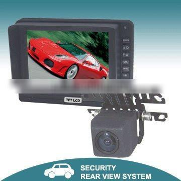"5"" Digital Reversing system with waterproof camera"