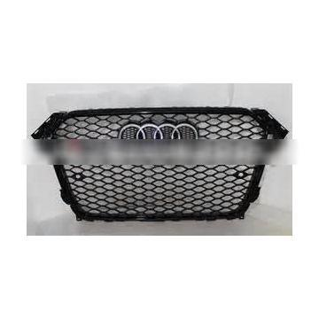 For NEW Audi A4 B9 change to RS4 front grill, A4 FRONT BUMPER GRILLE