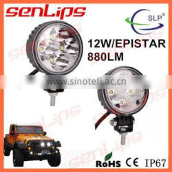 12W NEW LED WORK LIGHT SPOT/FLOOD BEAM FOR CAR LIGHT DRIVING