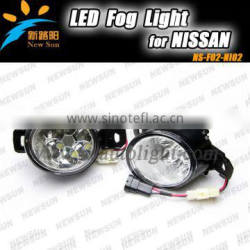 6pcs High leds*2 led car Auto light lamp led fog light for N issan For QASHQAI For NEW SYLPHY For NEW SUNNY led fog light