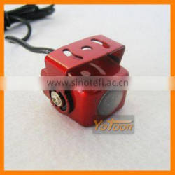 NEW Car rear view 170 angle camera guard line CCD effect(red)