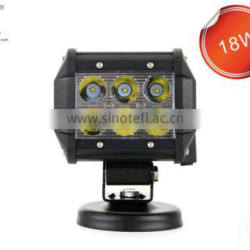 50000hours 2 years warranty 18w 9v-32v super wholesale 10inch cree off road 4x4 hid car led work light 18w