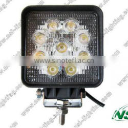 Offroad led work light, Auto led working lights, 27w led work light for trucks