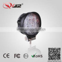 IP67 round led work light waterproof 27w off road trailer 24v led trailer lights china