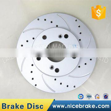 Gray parts vented brake discs,funny car accessories