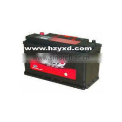 DIN standard lead acid mf car battery 75ah