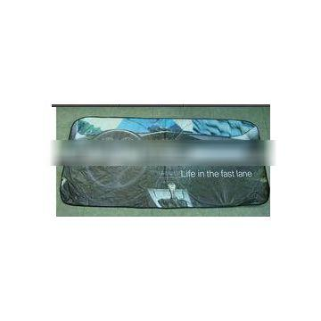 2014 new style car front window sunshade with Tyvek