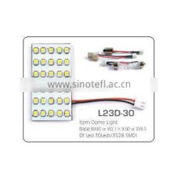 30pcs 3528SMD car use auto led dome light