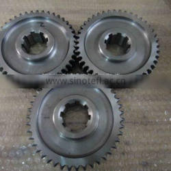 custom-made cnc machining accessories, spur gear and shaft
