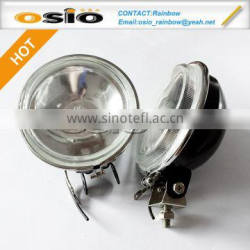 4 inch Round 112 Fog Light SET Auto Halogen Crystal Sealed Beam headlight H3 with support