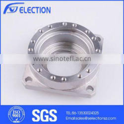 CNC Production Lines Steel Fabrication Company Silver CNC Machining Aluminium Parts
