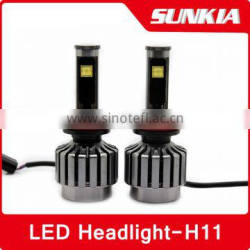 h11 waterproof projector car led headlight h11 High quality headlight led h11 Novel Item car led headlight bulb h11 New Ds