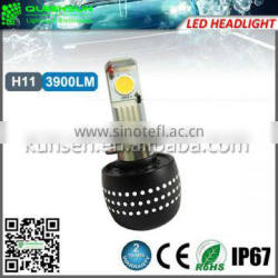 2014 8-36v Canbus h11 led headlight bulb 7800LM 72w led headlight Led Conversion Kits
