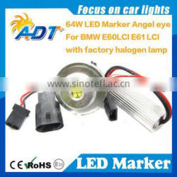 Wholesale LED marker light E60 LCI 64W LED Angel eyes kits