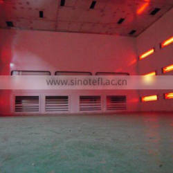 infra red spray booth