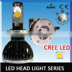 24w or 28w Super Bright h4 headlight lamp with 2550lm 5000k high quality
