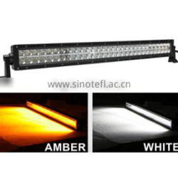 "3W each LED,32"" Dual Row 180W AMBER & WHITE Dual Colors LED Work Light Bar,LED Mining Bar(SR-BD3-180D,180W)Spot/Flood/Combo"