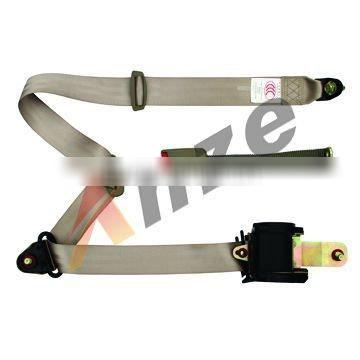 Emergency lock 3-points car safety belt&ELR universal seat belt