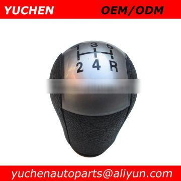 YUCHEN Car Gear Shift Knobs Black/Silver For Ford Focus Old MK2 MK2 FL (04-12) OEM 4M51-AO45B79