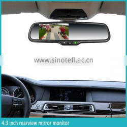 Germid high resolution LCD monitor Rear view mirror with strong durability