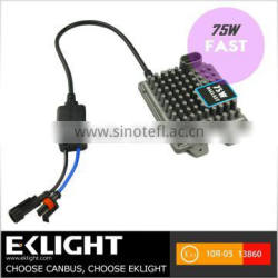 Super Fast Start EK 12V AC 75W Car HID Ballast For Sale