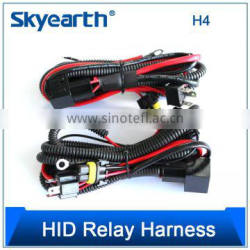 4 PIN BL ROHS hid kit relay harness, china factory led wire harness