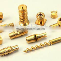 Metal products factory cnc machining centre for precision brass parts